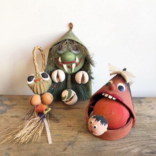 妖怪玩具、郷土玩具、みちかた工房、道方令、ヴィンテージ雑貨、妖怪