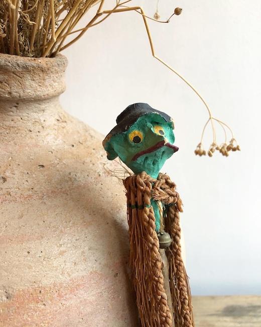 土人形、郷土玩具、河童、妖怪玩具、民芸