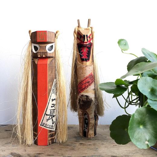 郷土玩具、妖怪玩具、一刀彫、こけし、ベロ長、まよけ山姥