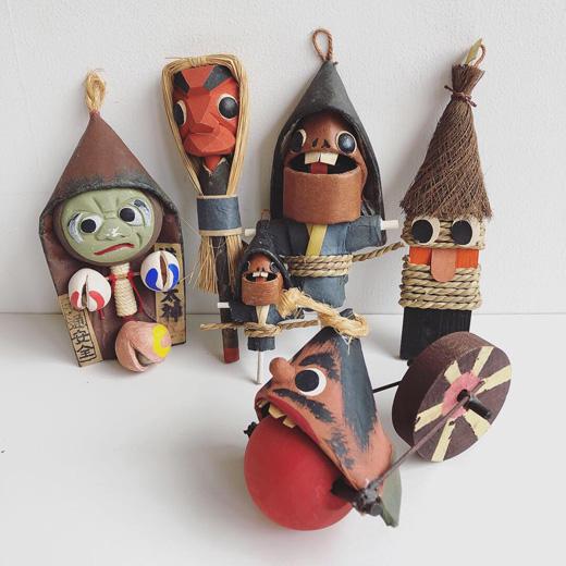 みちかた工房、妖怪玩具、民芸玩具、道方令、お土産品、クラフト、ヴィンテージ