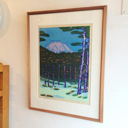 中尾義隆、版画、原生林、1977、アート、モダンインテリア